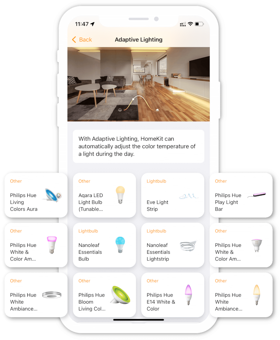 All HomeKit devices in your pocket